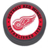 Detroit Red Wings Established 1926 Commemorative NHL Puck